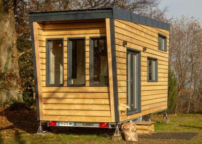 Tiny house réalisée par TocTocTiny