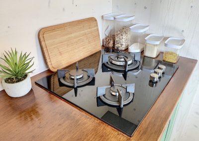 Plaques de cuisson dans la tiny house